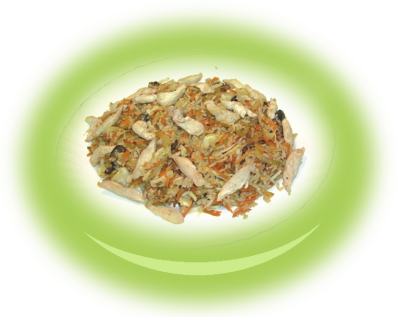 Ориз с пиле и зеленчуци