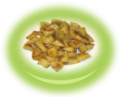 """Home style potatoes """"Sote"""" with butter, garlic and dill"""