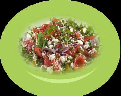 Peeled  salad