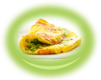 White cheese Omelette