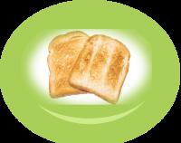 Slice of  bread /toast/